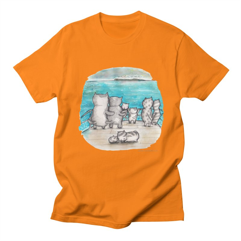 Welcome Refugees Men's T-shirt by caratoons's Shop