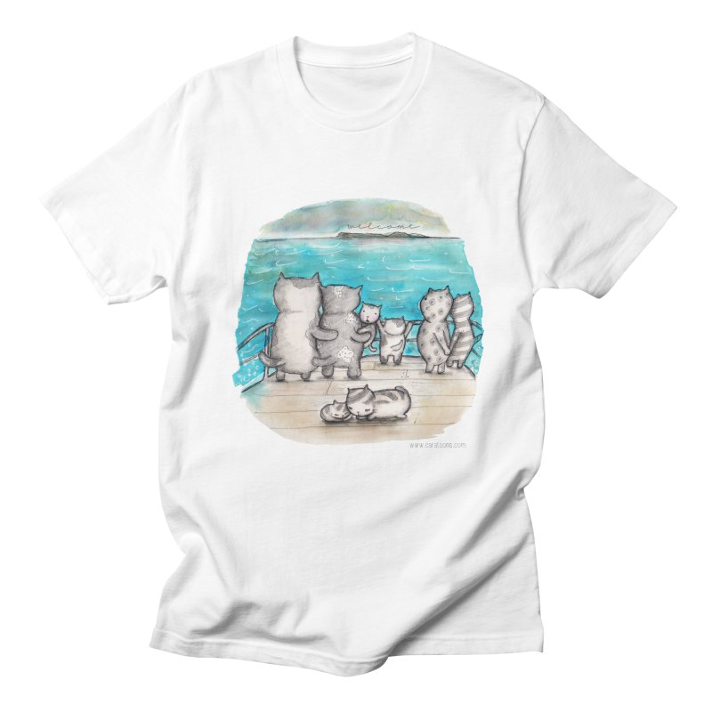 Welcome Refugees Men's Regular T-Shirt by caratoons's Shop