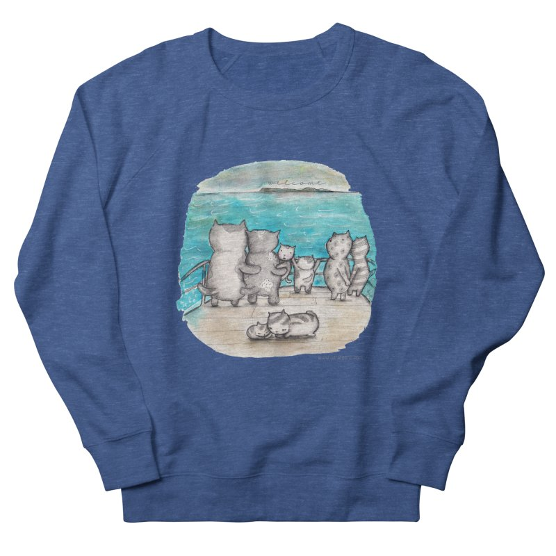 Welcome Refugees Men's Sweatshirt by caratoons's Shop