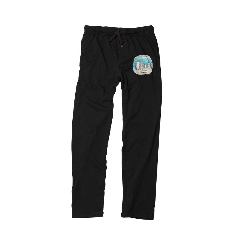 Welcome Refugees Men's Lounge Pants by caratoons's Shop