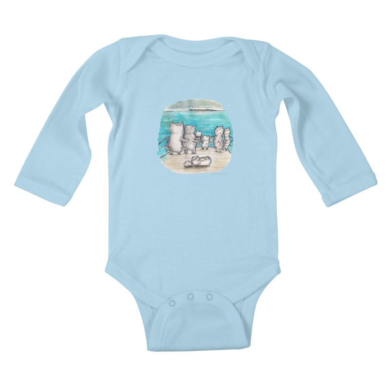 Welcome Refugees Kids Baby Longsleeve Bodysuit by caratoons's Shop