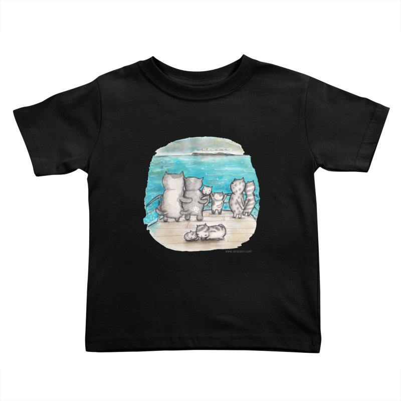 Welcome Refugees Kids Toddler T-Shirt by caratoons's Shop