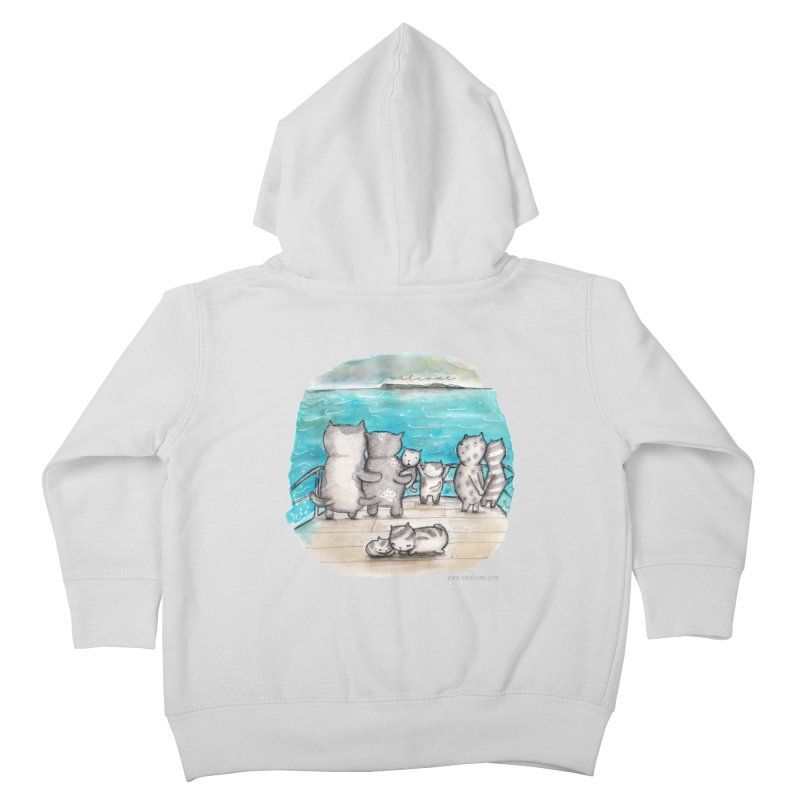 Welcome Refugees Kids Toddler Zip-Up Hoody by caratoons's Shop