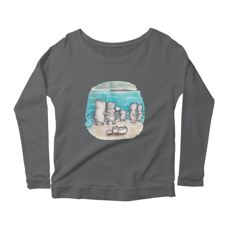 Welcome Refugees Women's Scoop Neck Longsleeve T-Shirt by caratoons's Shop