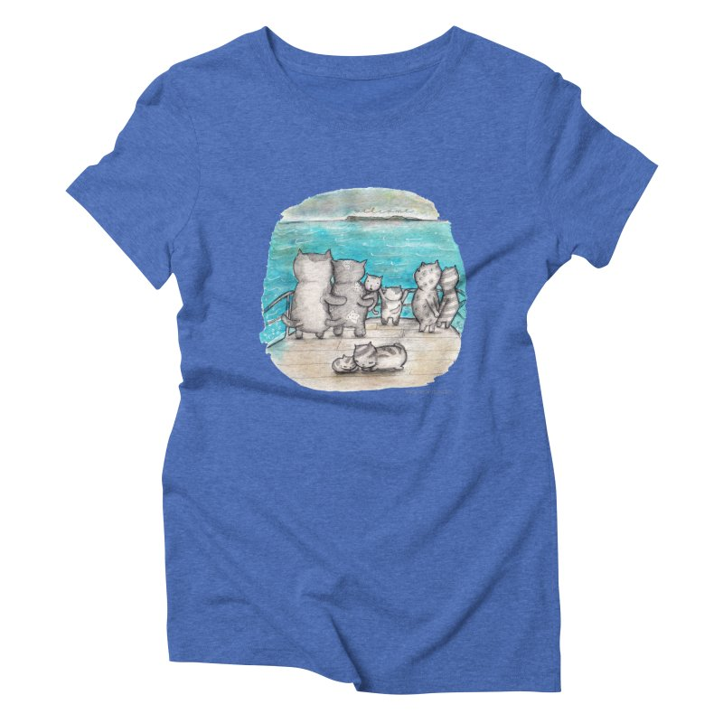 Welcome Refugees Women's Triblend T-Shirt by caratoons's Shop