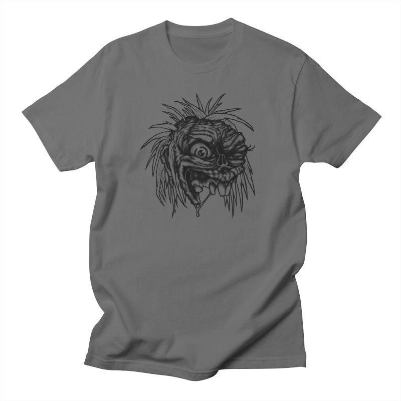 Zombie Head II Men's T-Shirt by Carden Illustration