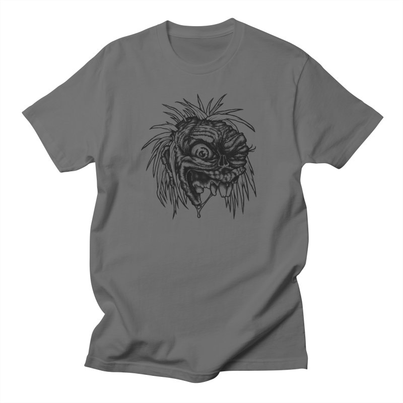 Zombie Head II Men's Regular T-Shirt by Carden Illustration