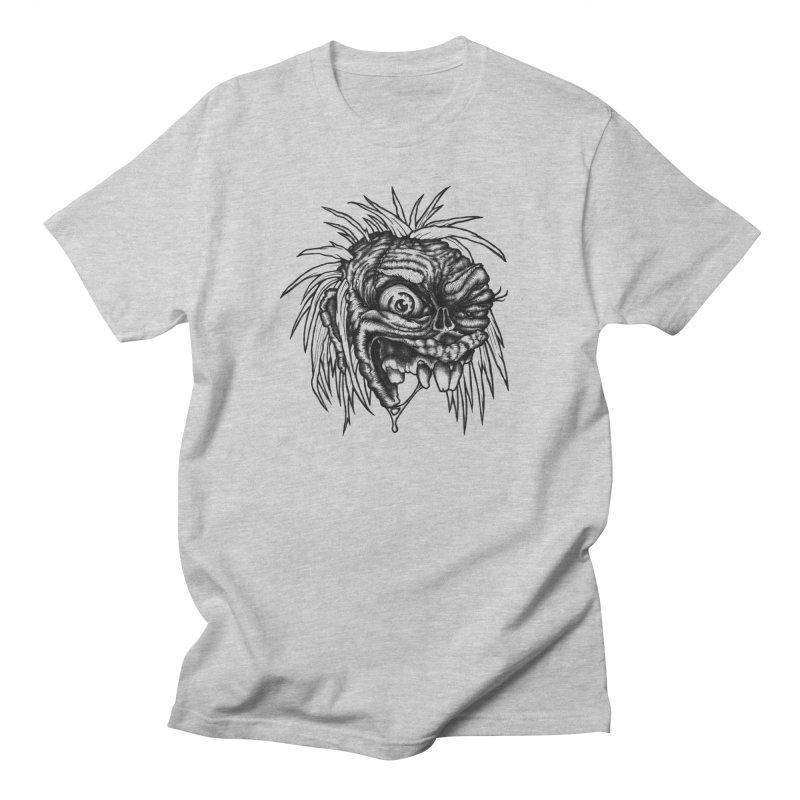 Zombie Head II Men's Regular T-Shirt by Carden Illustration