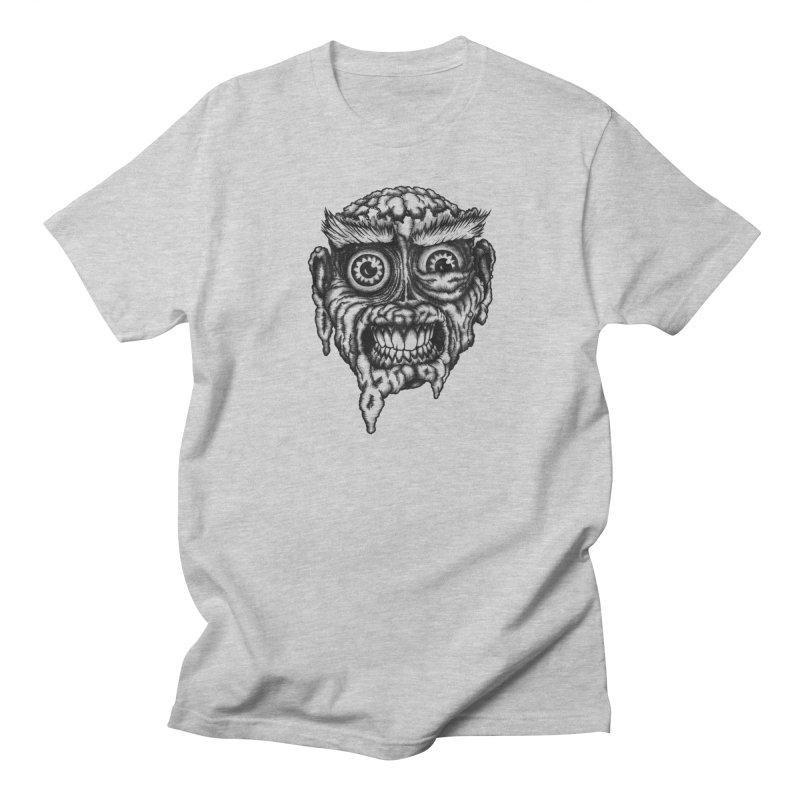 Zombie Head III Men's T-shirt by Carden Illustration