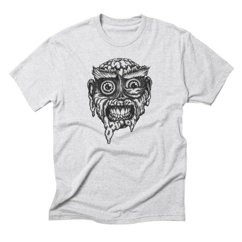 Zombie Head III Men's Triblend T-shirt by Carden Illustration