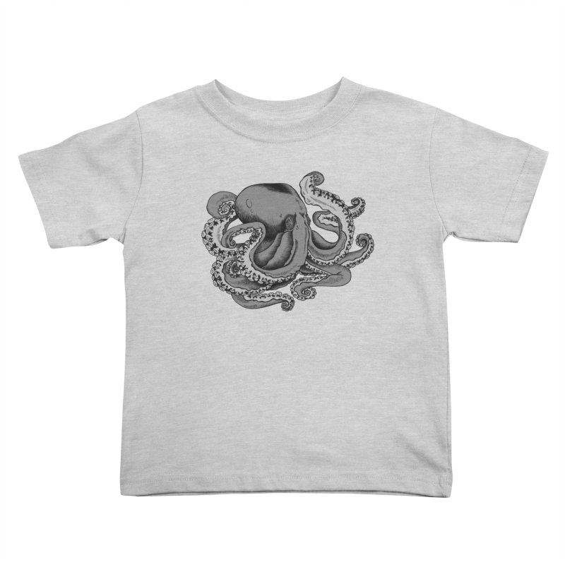 Octopus Kids Toddler T-Shirt by Carden Illustration