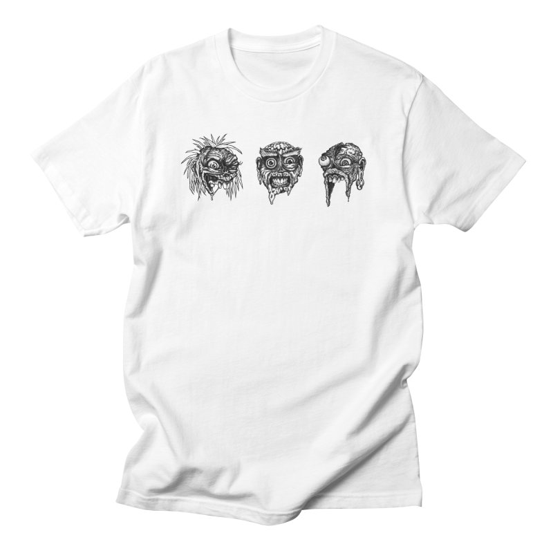 Zombies! Men's Regular T-Shirt by Carden Illustration