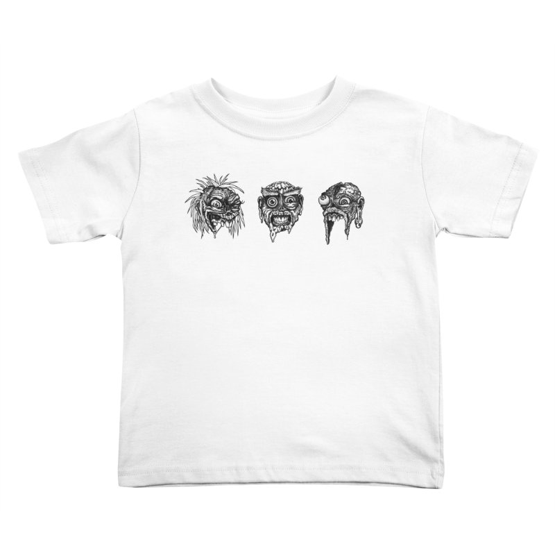 Zombies! Kids Toddler T-Shirt by Carden Illustration