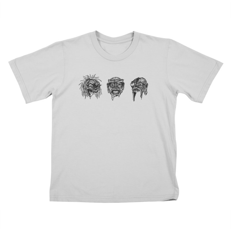 Zombies! Kids T-Shirt by Carden Illustration