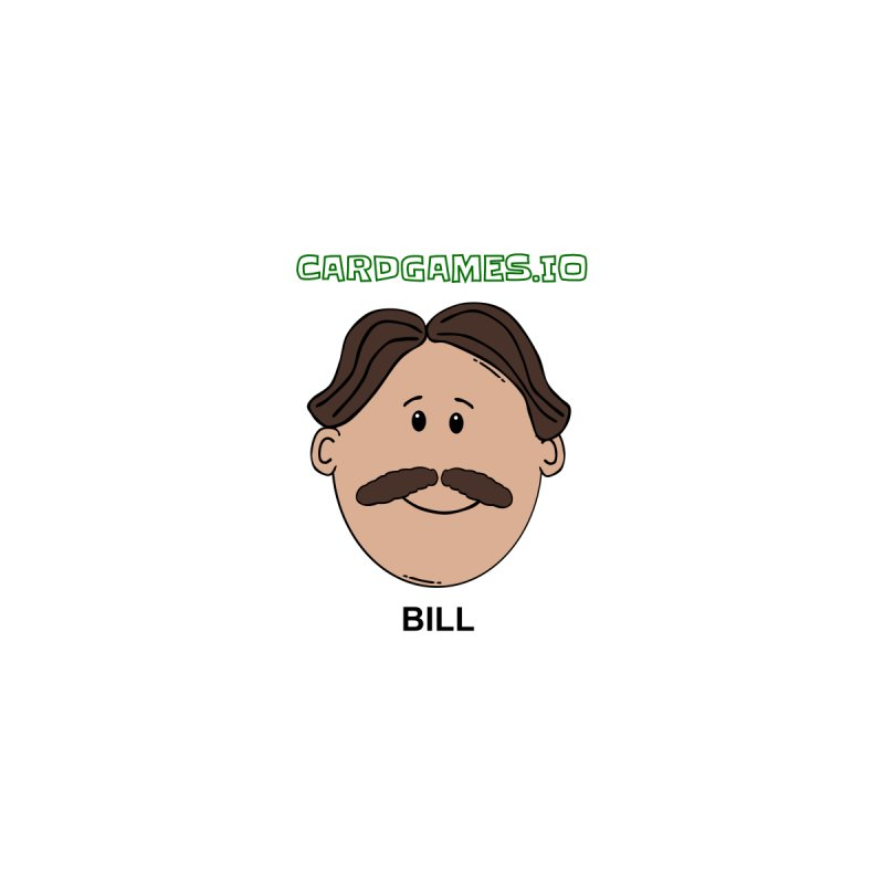 Bill's Face Sticker Accessories Sticker by CardGames.io Merchandise