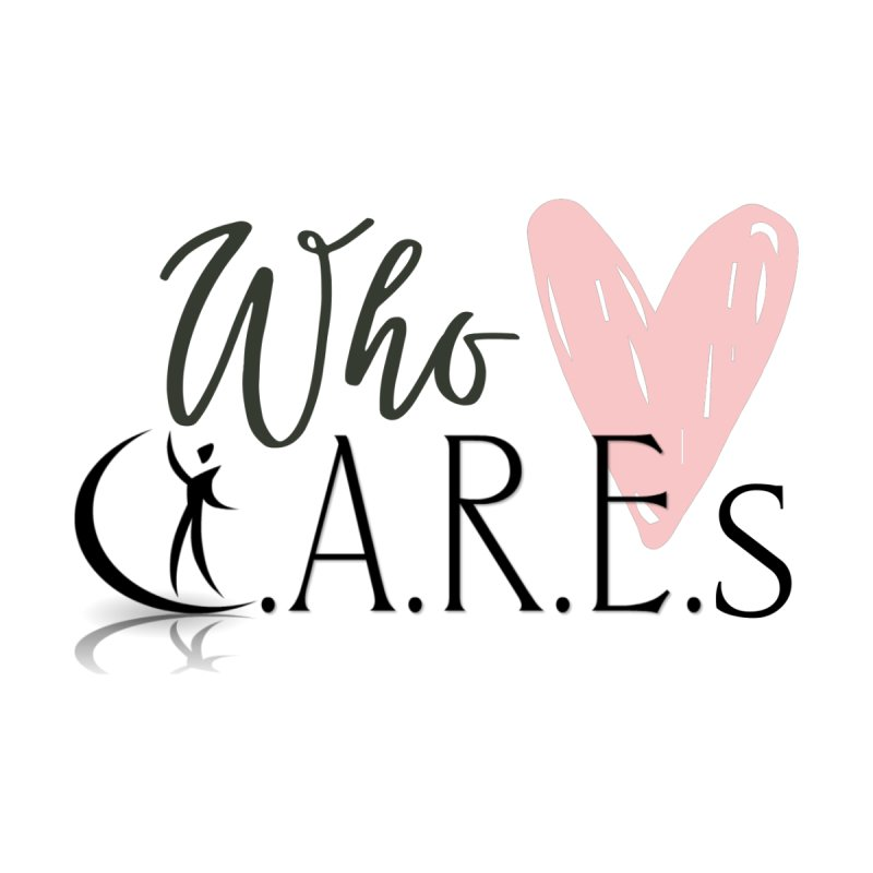 Who C.A.R.E.s Accessories Sticker by C.A.R.E. Gear! by C.A.R.E. Holistic Center
