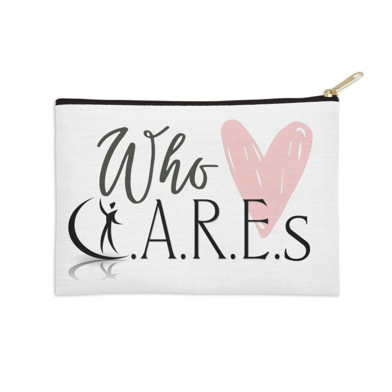 Who C.A.R.E.s Accessories Zip Pouch by C.A.R.E. Gear! by C.A.R.E. Holistic Center