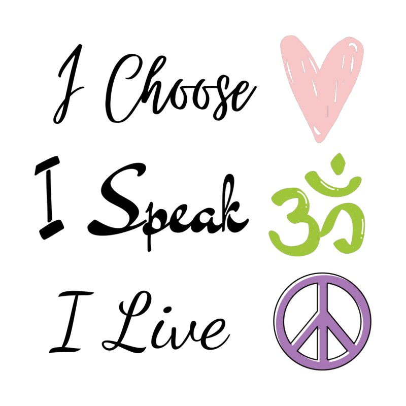 Love. OM. Peace. Accessories Face Mask by C.A.R.E. Gear! by C.A.R.E. Holistic Center
