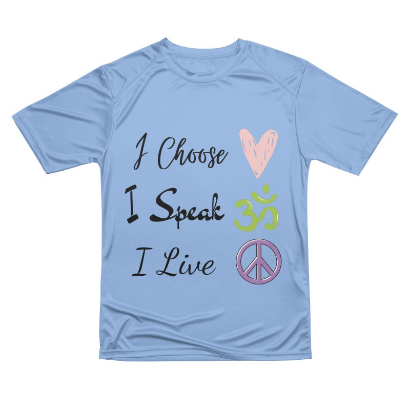Love. OM. Peace. Men's T-Shirt by C.A.R.E. Gear! by C.A.R.E. Holistic Center