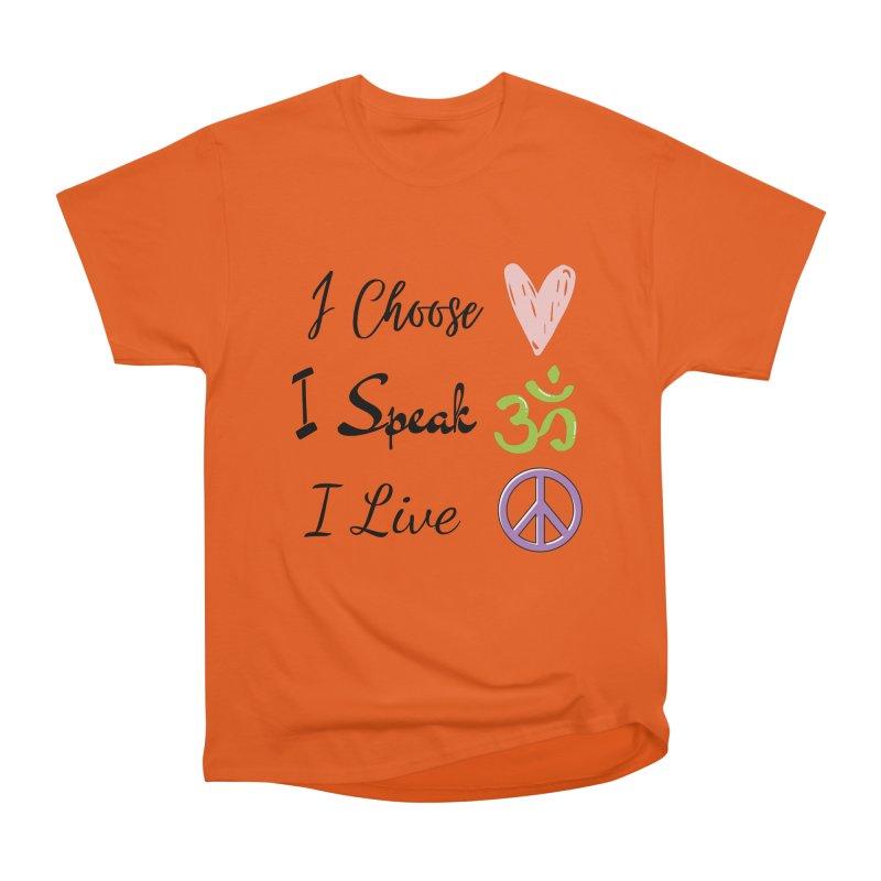 Love. OM. Peace. Women's T-Shirt by C.A.R.E. Gear! by C.A.R.E. Holistic Center