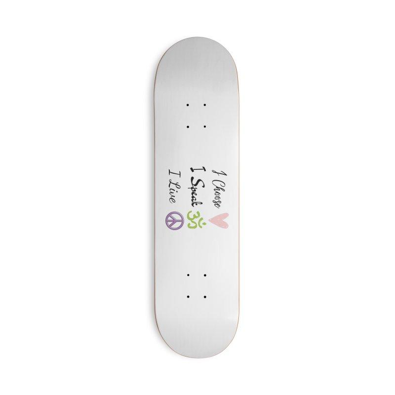 Love. OM. Peace. Accessories Skateboard by C.A.R.E. Gear! by C.A.R.E. Holistic Center