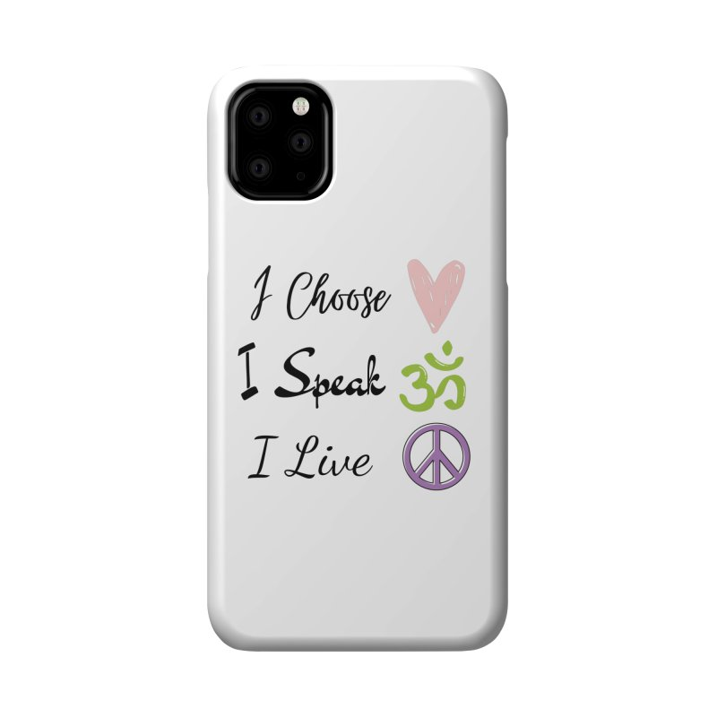 Love. OM. Peace. Accessories Phone Case by C.A.R.E. Gear! by C.A.R.E. Holistic Center