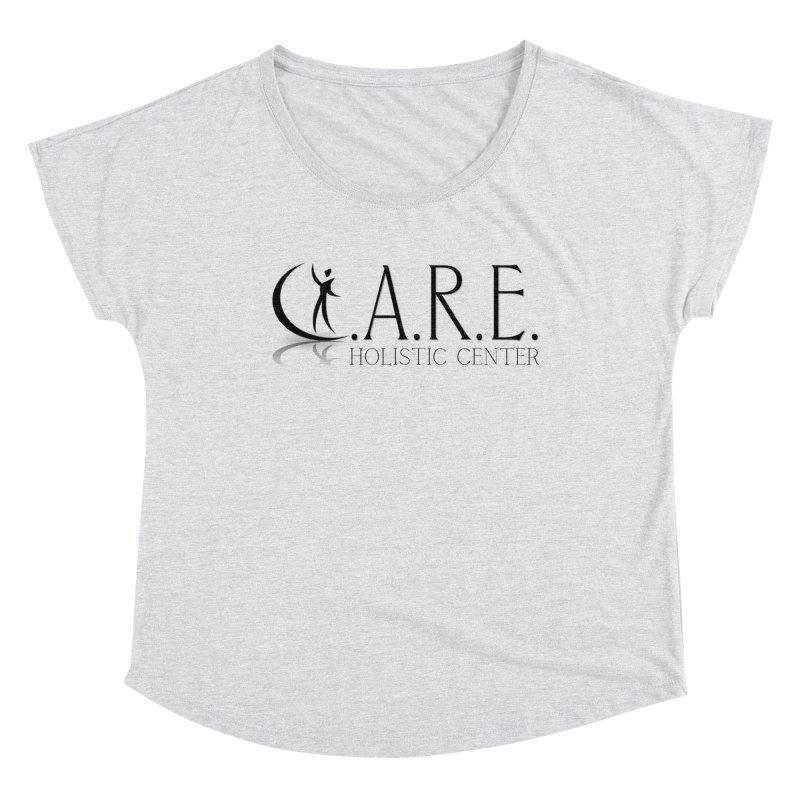 C.A.R.E. Holistic Center Women's Scoop Neck by C.A.R.E. Gear! by C.A.R.E. Holistic Center