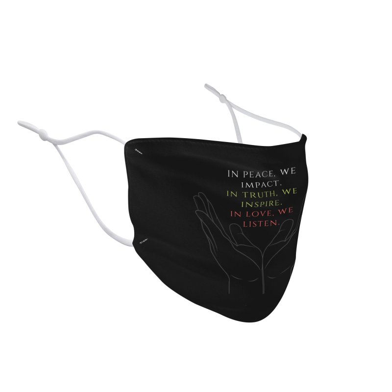 In Love We Listen Accessories Face Mask by C.A.R.E. Gear! by C.A.R.E. Holistic Center