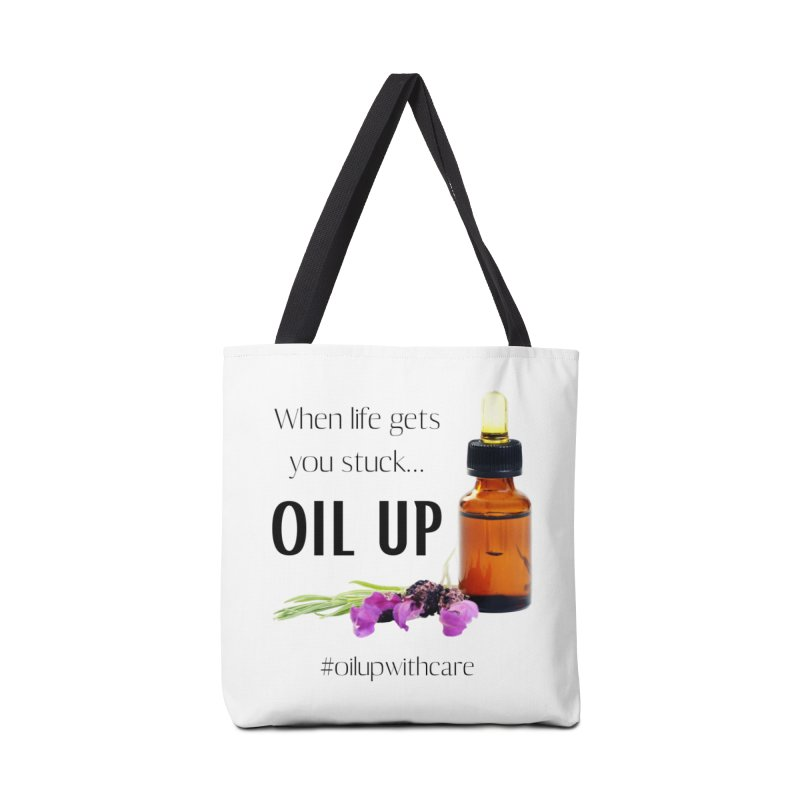 #OilUpWithCare Accessories Bag by C.A.R.E. Gear! by C.A.R.E. Holistic Center