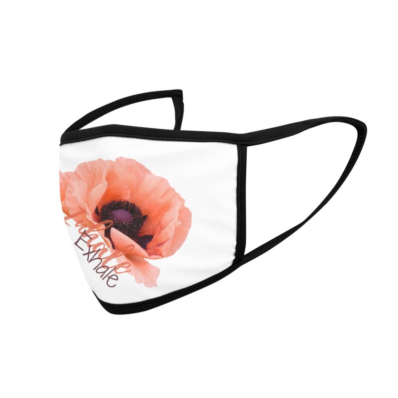 Inhale. Exhale. Poppie Accessories Face Mask by C.A.R.E. Gear! by C.A.R.E. Holistic Center