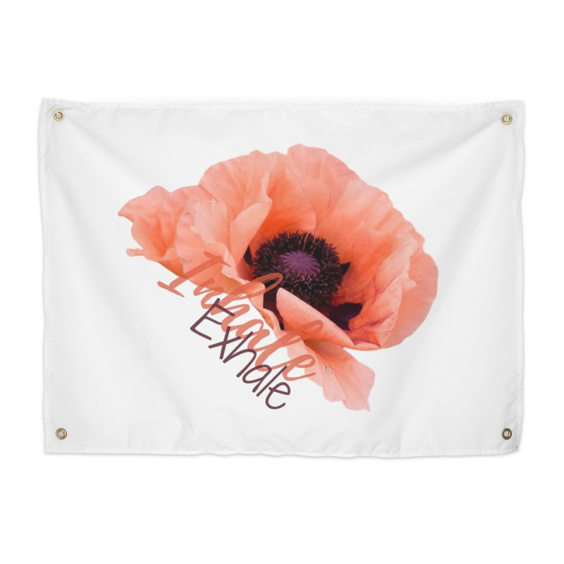 Inhale. Exhale. Poppie Home Tapestry by C.A.R.E. Gear! by C.A.R.E. Holistic Center