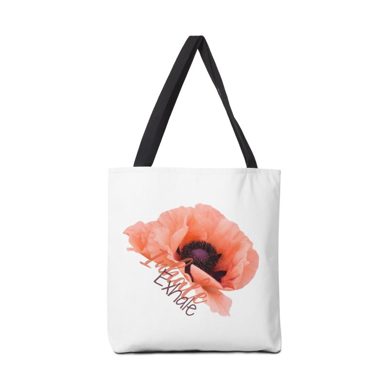 Inhale. Exhale. Poppie Accessories Bag by C.A.R.E. Gear! by C.A.R.E. Holistic Center
