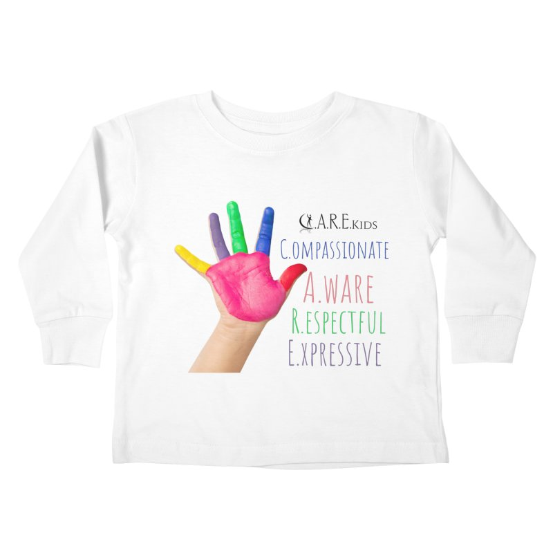 C.A.R.E. Kids Gear Kids Toddler Longsleeve T-Shirt by C.A.R.E. Gear! by C.A.R.E. Holistic Center