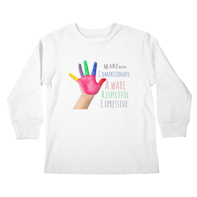 C.A.R.E. Kids Gear Kids Longsleeve T-Shirt by C.A.R.E. Gear! by C.A.R.E. Holistic Center