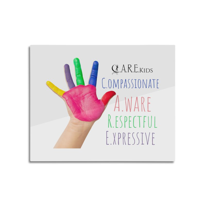 C.A.R.E. Kids Gear Home Mounted Aluminum Print by C.A.R.E. Gear! by C.A.R.E. Holistic Center