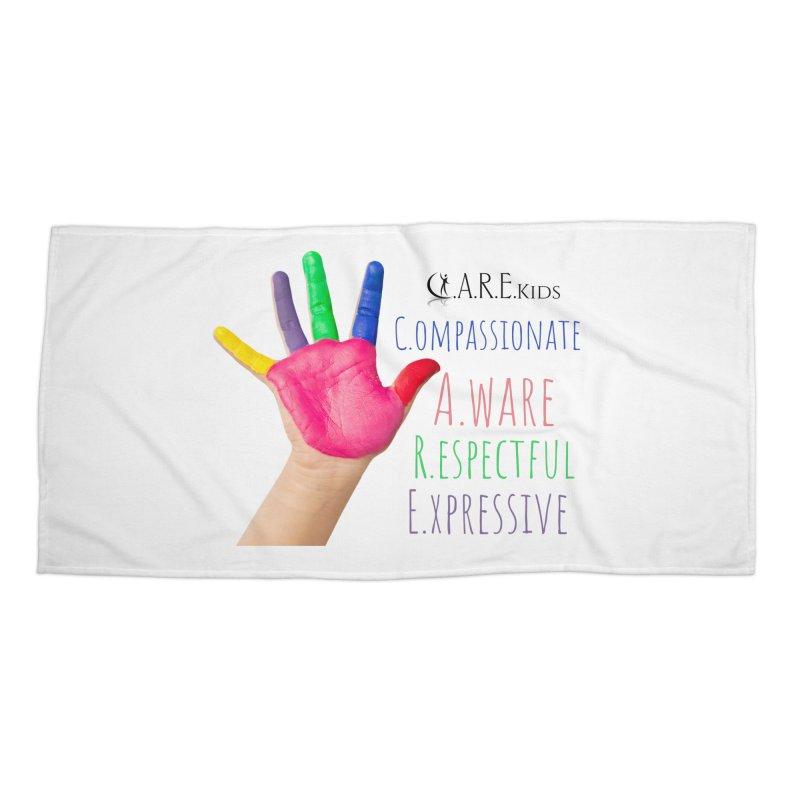 C.A.R.E. Kids Gear Accessories Beach Towel by C.A.R.E. Gear! by C.A.R.E. Holistic Center