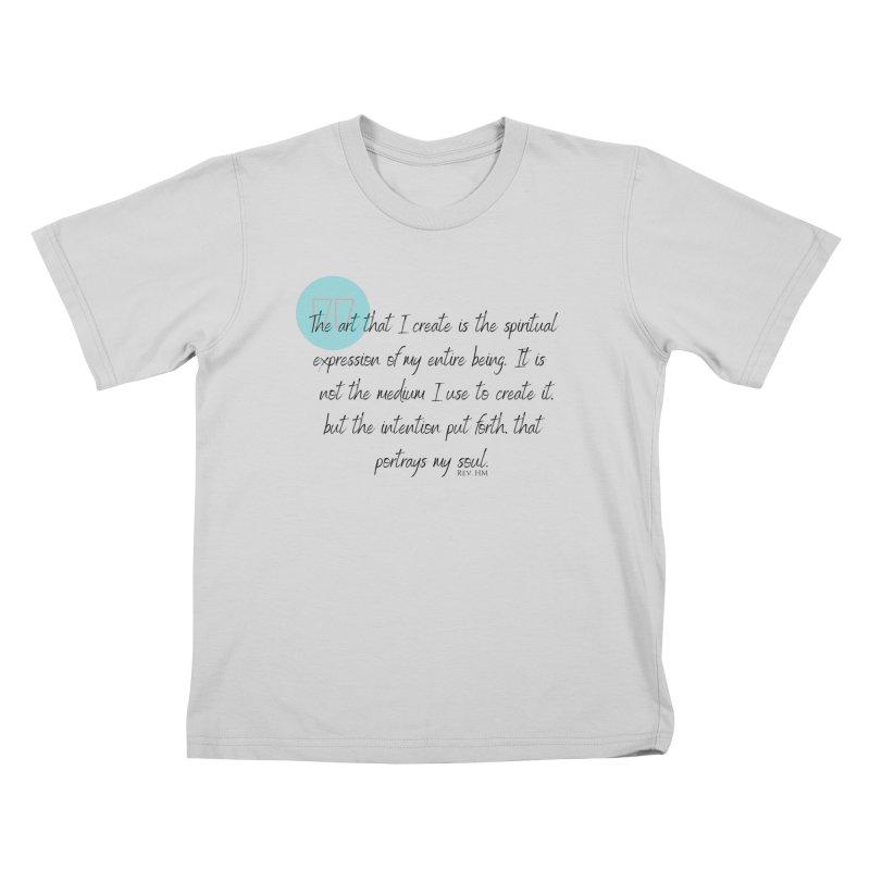 Art My Soul Kids T-Shirt by C.A.R.E. Gear! by C.A.R.E. Holistic Center