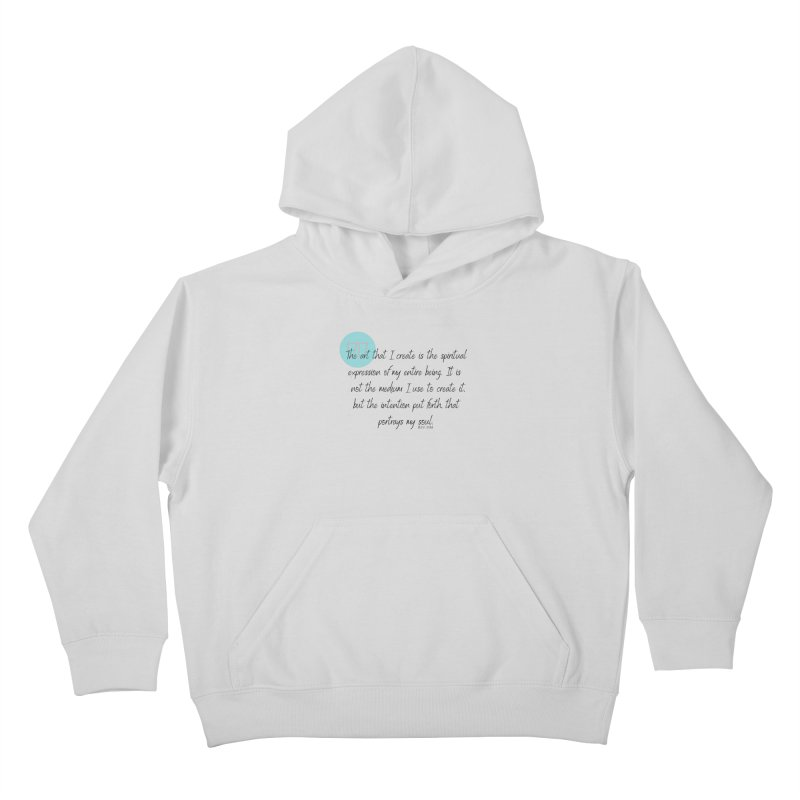 Art My Soul Kids Pullover Hoody by C.A.R.E. Gear! by C.A.R.E. Holistic Center