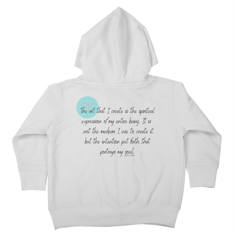 Art My Soul Kids Toddler Zip-Up Hoody by C.A.R.E. Gear! by C.A.R.E. Holistic Center