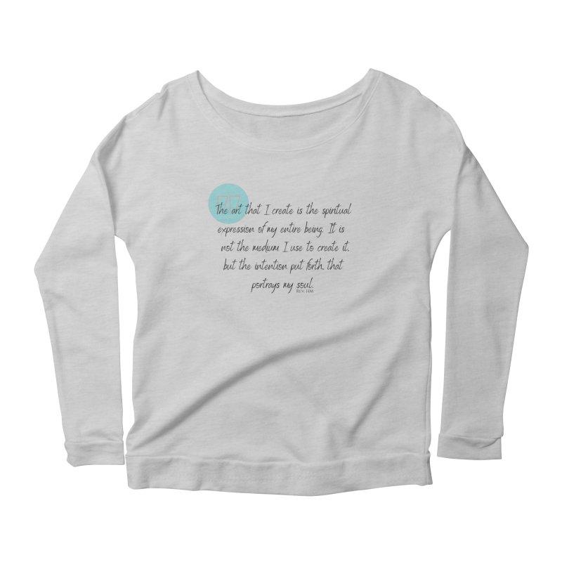 Art My Soul Women's Longsleeve T-Shirt by C.A.R.E. Gear! by C.A.R.E. Holistic Center