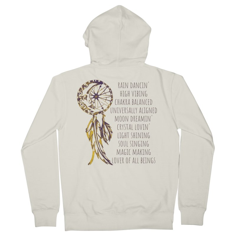 High Vibing Women's Zip-Up Hoody by C.A.R.E. Gear! by C.A.R.E. Holistic Center