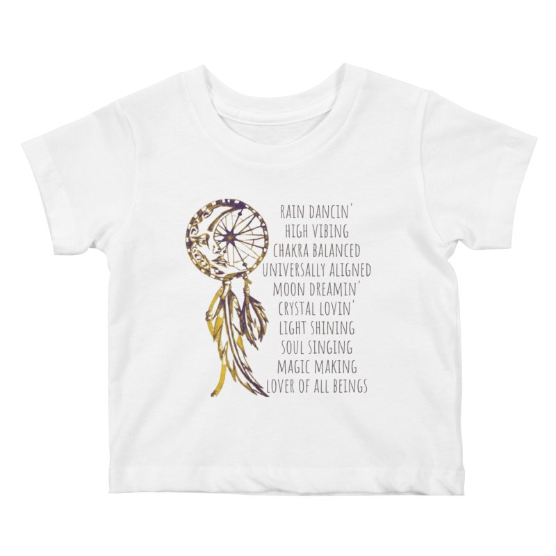 High Vibing Kids Baby T-Shirt by C.A.R.E. Gear! by C.A.R.E. Holistic Center