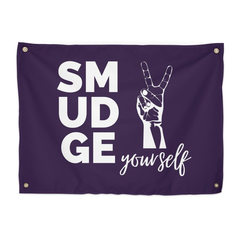 Smudge Yourself Home Tapestry by C.A.R.E. Gear! by C.A.R.E. Holistic Center