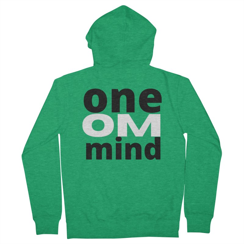 OM Men's Zip-Up Hoody by C.A.R.E. Gear! by C.A.R.E. Holistic Center
