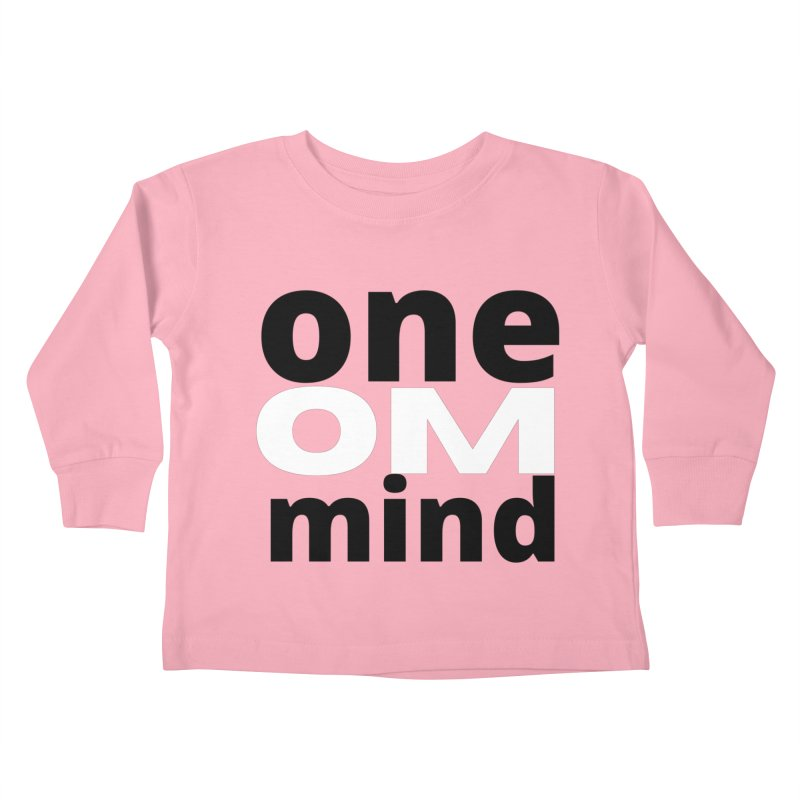 OM Kids Toddler Longsleeve T-Shirt by C.A.R.E. Gear! by C.A.R.E. Holistic Center