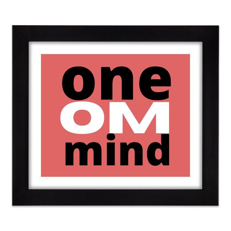 OM Home Framed Fine Art Print by C.A.R.E. Gear! by C.A.R.E. Holistic Center