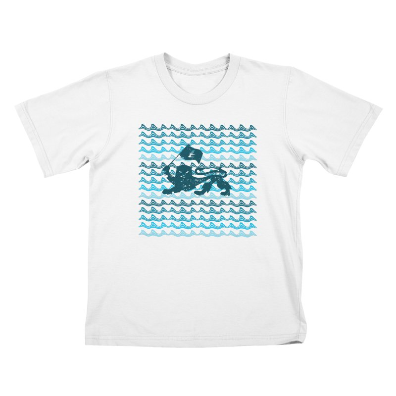 Rasta Blue Kids T-Shirt by Caribea