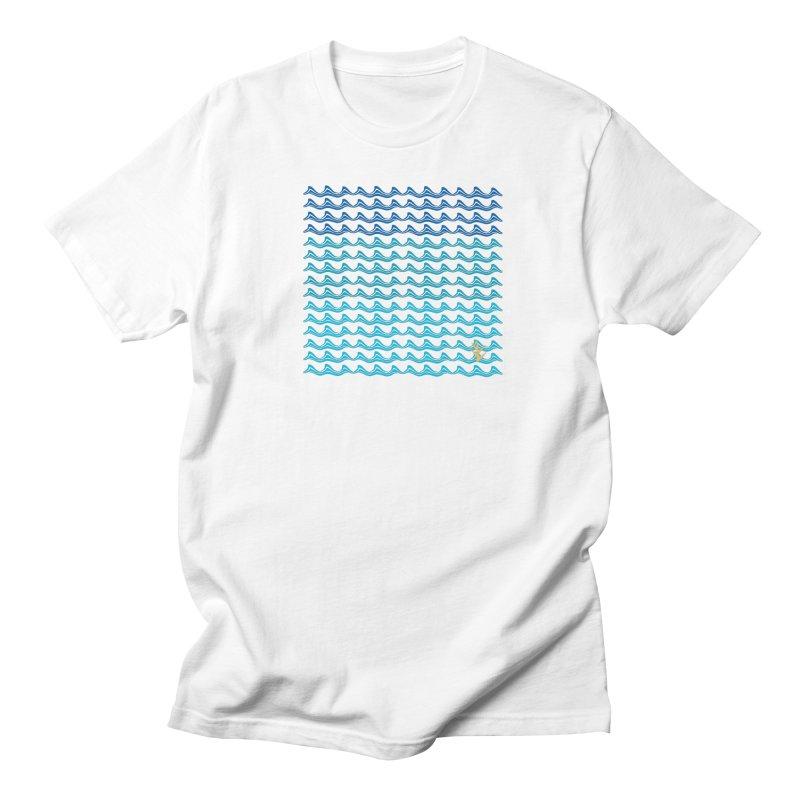 Caribbean Waves Men's Regular T-Shirt by Caribea
