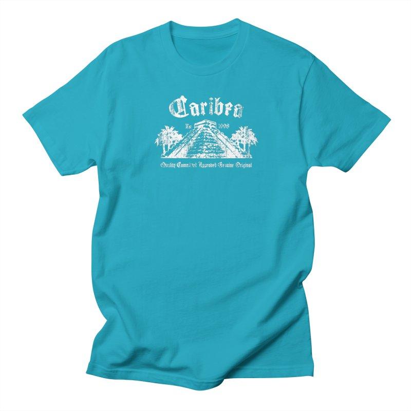 Pyramid of Kukulcan White Women's T-Shirt by Caribea