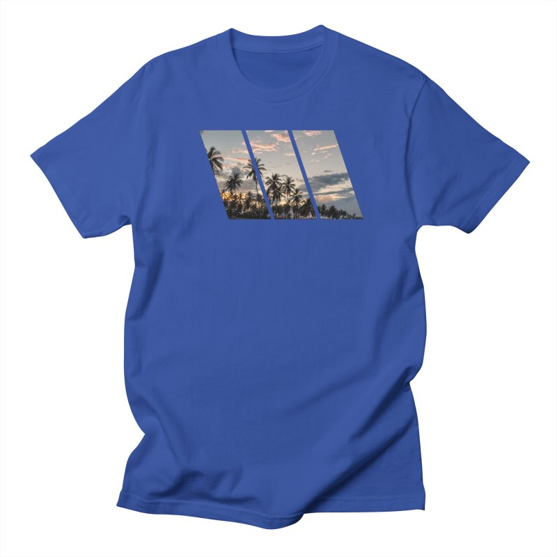 Sunset Beach Slants Men's T-Shirt by Caribea